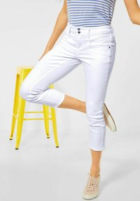 Street One - Slim fit jeans - weiß - 1