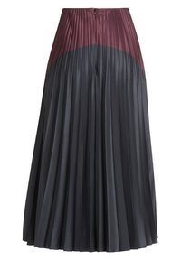 Vera Mont - MIT COLOR BLOCKING - A-line skirt - purple/grey - 4