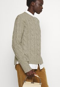 Polo Ralph Lauren - CLASSIC LONG SLEEVE - Maglione - light vintage heather - 4