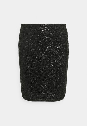 IHJAZLYN  - Mini skirt - black