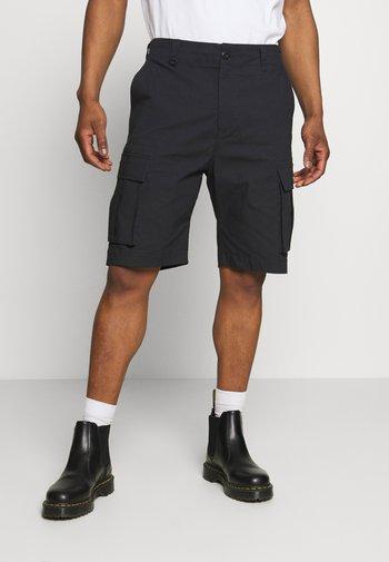 CARGO UNISEX - Shorts - black