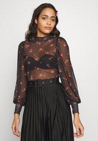 New Look - NINA ROSE - Long sleeved top - black - 0