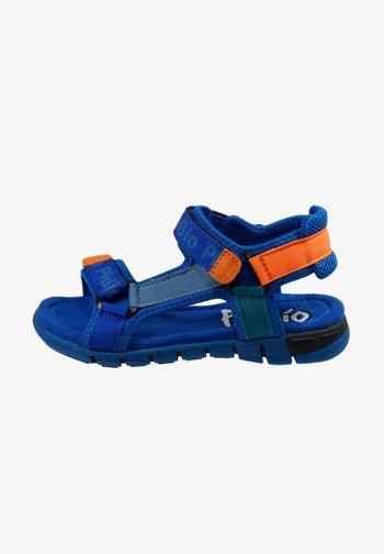Walking sandals - royal orange