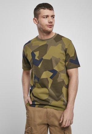 T-shirt basic - swedish camo