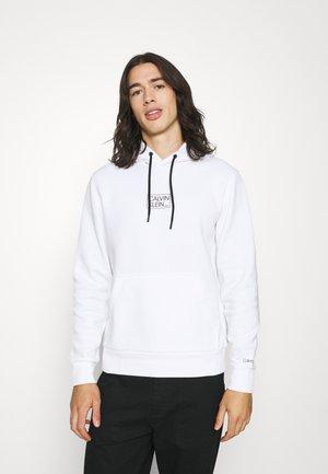 SMALL BOX LOGO HOODIE - Sweatshirt - bright white