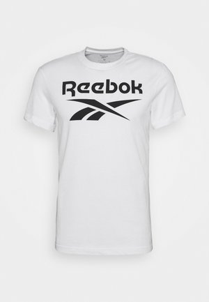 BIG LOGO TEE - T-shirt print - white