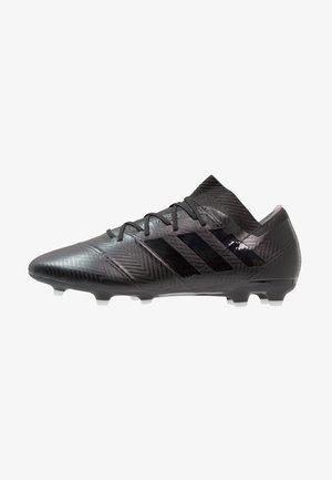 NEMEZIZ 18.2 FG - Moulded stud football boots - core black/footwear white
