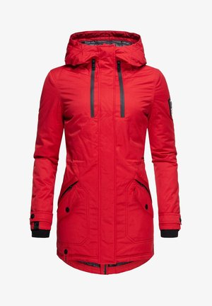 AVRILLE  - Winter coat - red