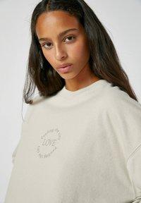 PULL&BEAR - Sweatshirt - beige - 3