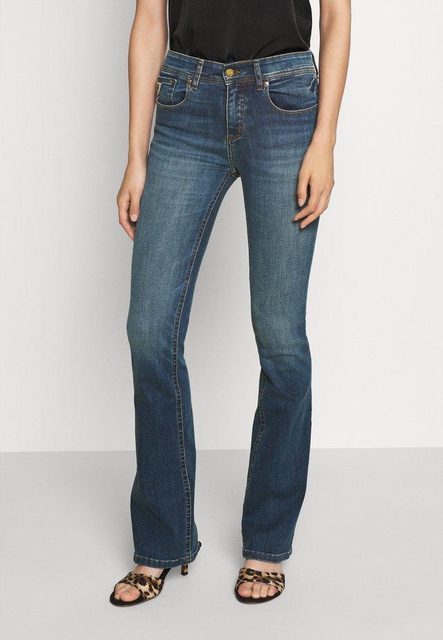 MELROSE - Jeans bootcut - dark stone