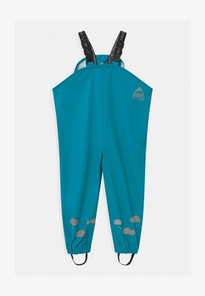PUDDLE BUSTER UNISEX - Rain trousers - tobemory teal