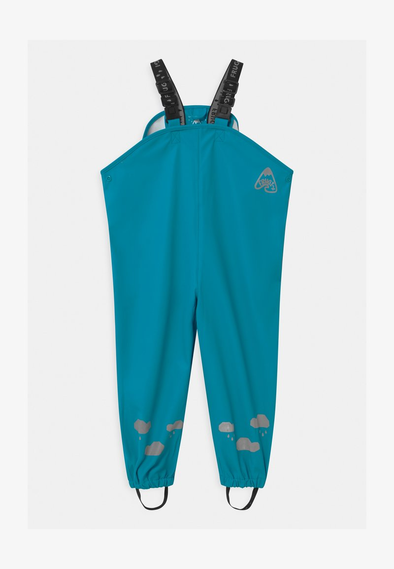 Frugi - PUDDLE BUSTER UNISEX - Rain trousers - tobemory teal