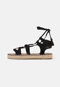 South Beach - LACE UP - Sandals - black - 1