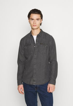 RIDER - Shirt - dark grey mele