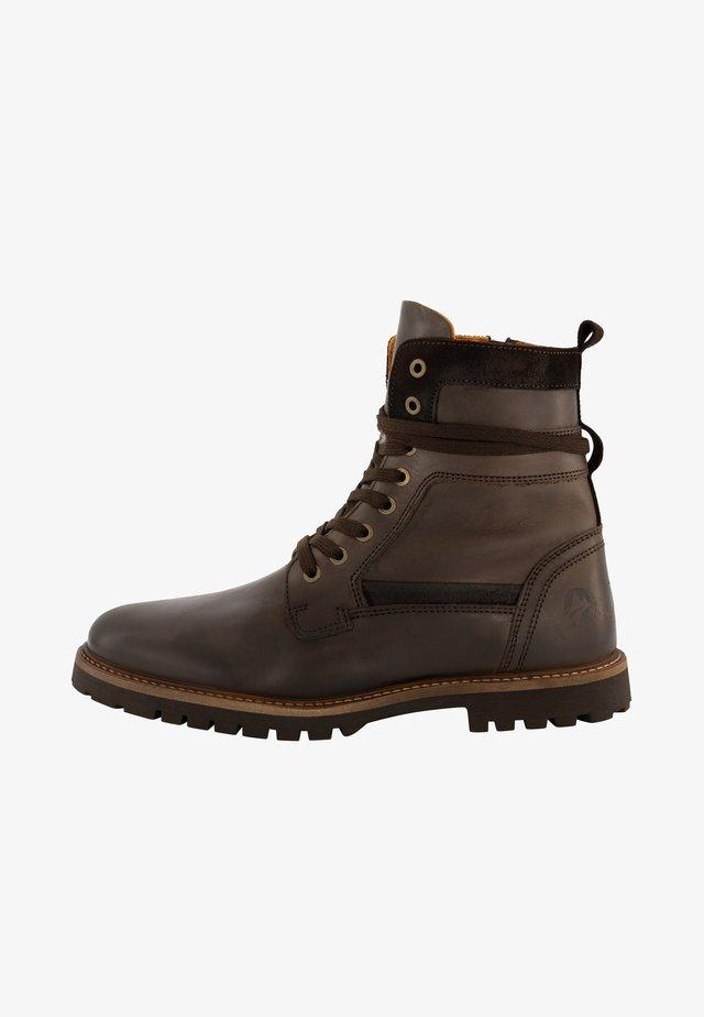 NORDFOLD - Veterboots - dark brown