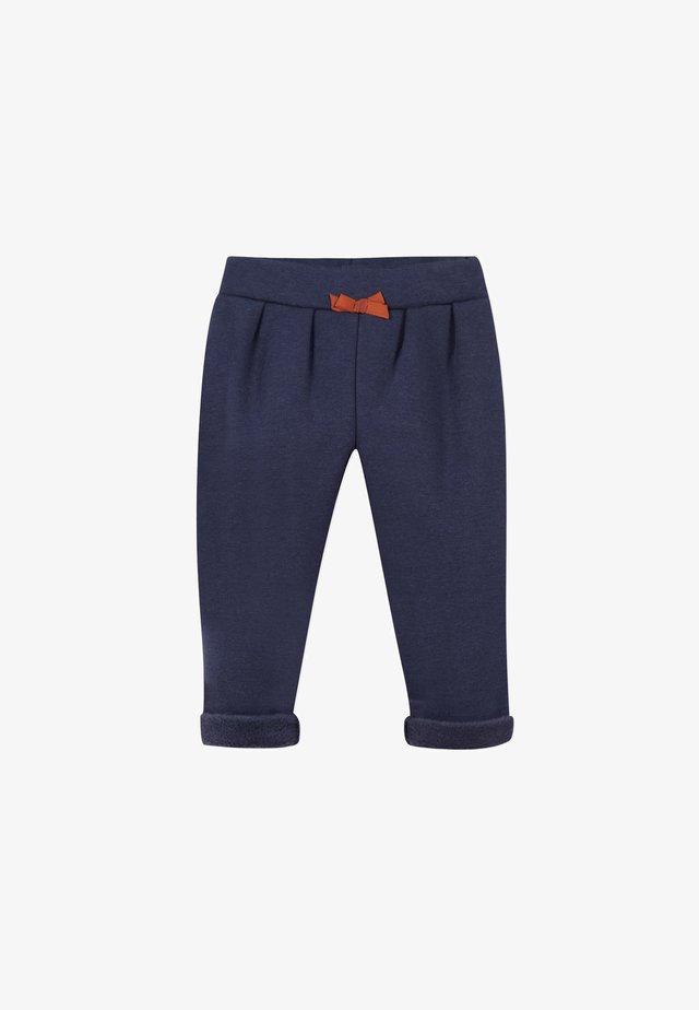 WITH CLIPS - Pantalon classique - marine blue
