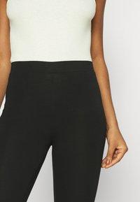 Gina Tricot - BASIC 2 PACK - Leggings - black - 3