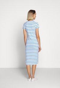 Polo Ralph Lauren - PIMA - Žerzejové šaty - white/rivera blu - 2