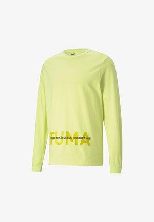 Longsleeve - soft fluo yellow