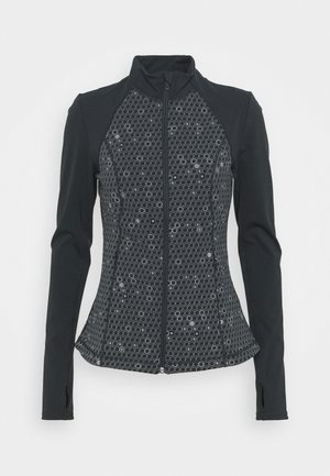 POWER WORKOUT ZIP THROUGH JACKET - Běžecká bunda - grey