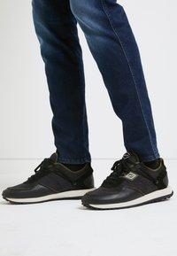 Replay - DRUM PRO GROUND - Zapatillas - black/green - 0
