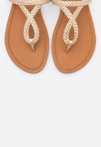 Madden Girl - ARIAA - T-bar sandals - gold - 5