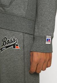 BOSS - BOSS X RUSSELL ATHLETIC SANYO - Sweatjacke - medium grey - 5