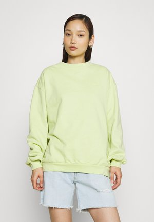 MELROSE SLOUCHY CREW - Sweatshirt - shadow lime