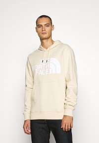 The North Face - STANDARD HOODIE - Huppari - bleached sand - 0