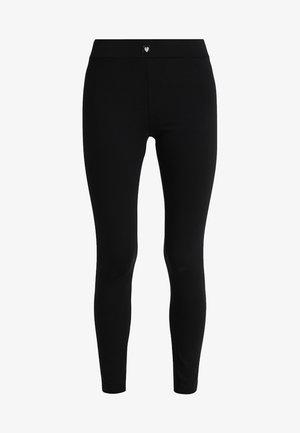 BLACK MATTERS LEGGINS - Pyžamový spodní díl - black