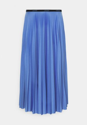 A-line skirt - turquin blue