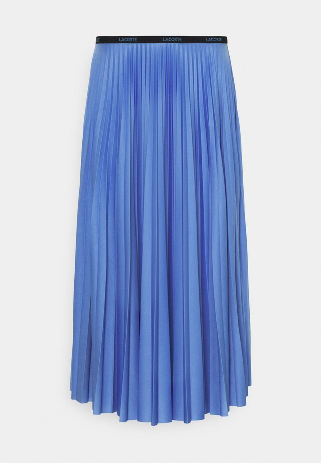 A-line skirt - turquin blue
