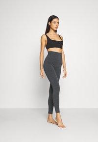 Boob - LEGGINGS - Pantalón de pijama - dark grey melange - 1