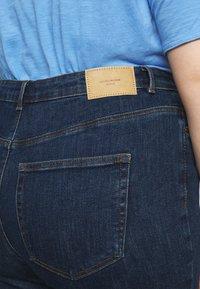 Vero Moda Curve - VMLOA - Skinny džíny - dark blue denim - 4