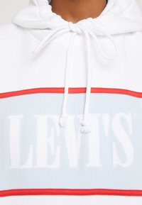 Levi's® - CAMERON HOODIE - Hoodie - white baby blue - 5