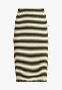 KIOMI - Pencil skirt - white/khaki - 3