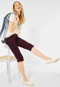 Cecil - Denim shorts - rot - 2