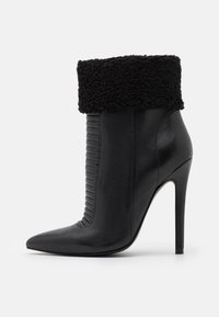 Even&Odd - LEATHER - Winter boots - black - 1