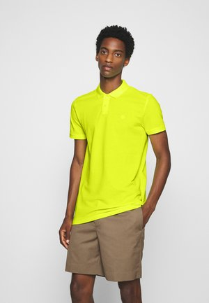 WITH SMALL EMBROIDERY - Polo - neon green