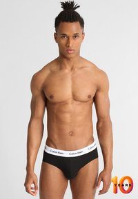 Calvin Klein Underwear - BRIEF 3 PACK - Braguitas - black - 0