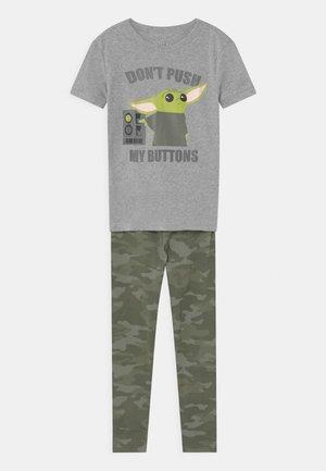 BOY CHILD MANDOLORIAN STAR WARS - Pyjama set - heather grey