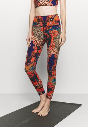 LOSE CONTROL PRINTED  - Legginsy - multicolor