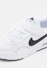 Nike Sportswear - AIR MAX UNISEX - Baskets basses - white/black - 5