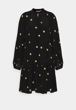 ENMIMER DRESS - Shirt dress - black