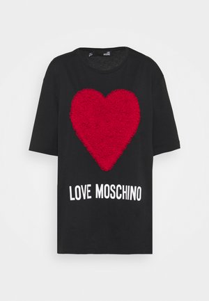 T-shirts print - rosso