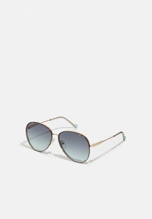 Sluneční brýle - shiny gold