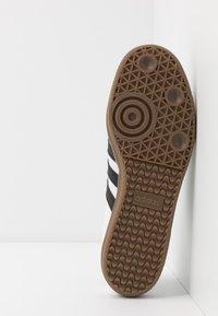 adidas Originals - SAMBA VEGAN - Trainers - footwear white/core black - 6