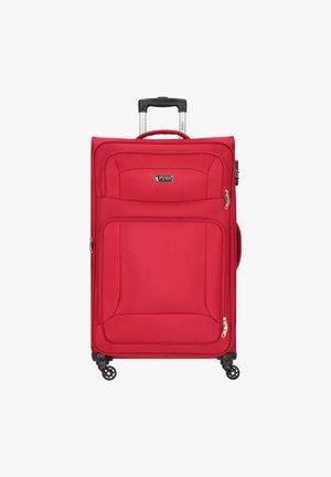 BARKLEY 4-ROLLEN TROLLEY - Wheeled suitcase - red