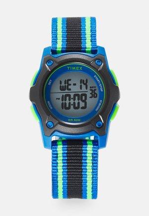 KIDS DIGITAL STRAP WATCH UNISEX - Digital watch - black