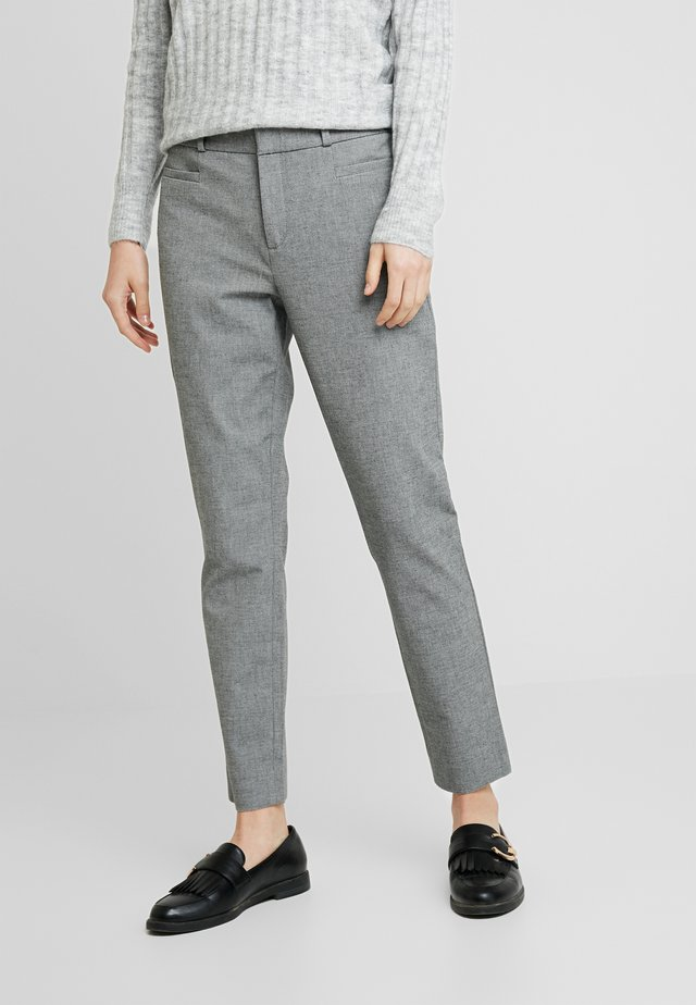 SLOAN TEXTURE PANT - Spodnie materiałowe - dark grey